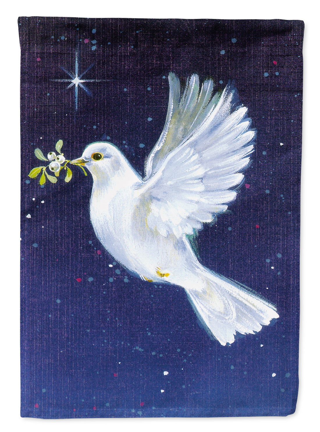 Peace Dove with the Olive Branch Flag Canvas House Size AAH1624CHF by Caroline's Treasures