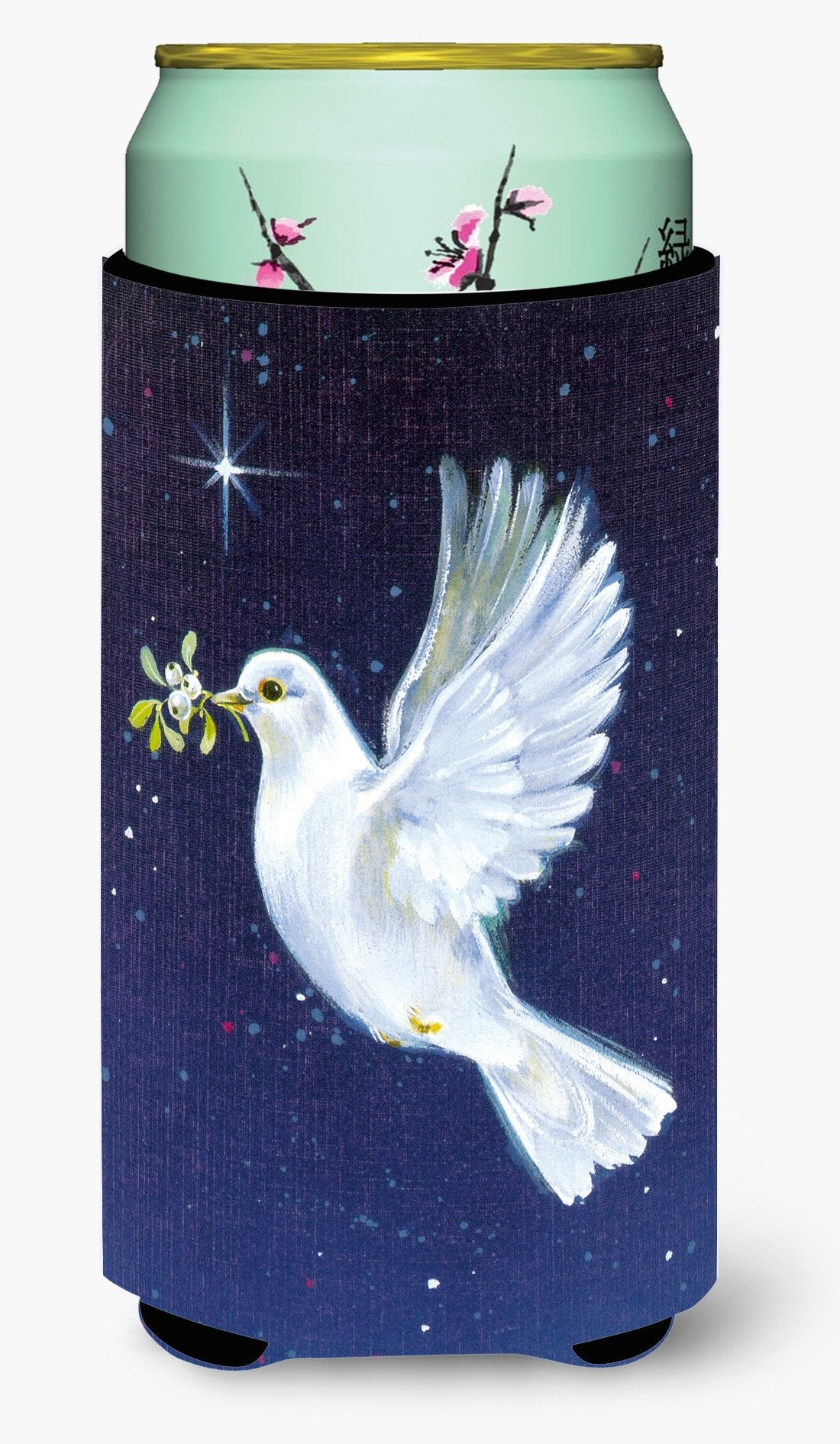 Peace Dove with the Olive Branch Tall Boy Beverage Insulator Hugger AAH1624TBC by Caroline's Treasures