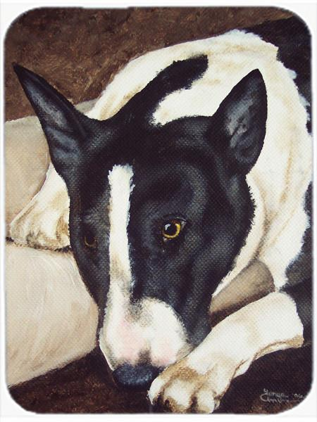 Buy this Bull Terrier by Tanya and Craig Amberson Mouse Pad, Hot Pad or Trivet AMB1030MP