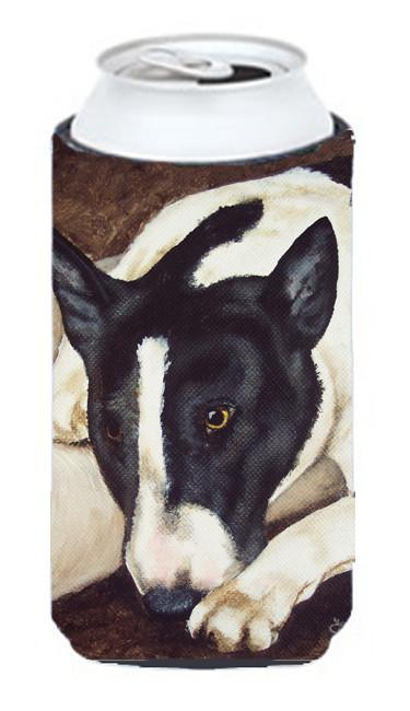 Buy this Bull Terrier by Tanya and Craig Amberson Tall Boy Beverage Insulator Hugger AMB1030TBC