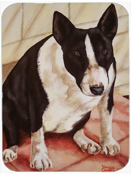 Buy this Bull Terrier English Bully Mouse Pad, Hot Pad or Trivet AMB1034MP