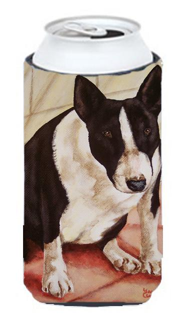 Buy this Bull Terrier English Bully Tall Boy Beverage Insulator Hugger AMB1034TBC