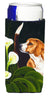 Beagle Lillies Ultra Beverage Insulators for slim cans AMB1077MUK by Caroline's Treasures