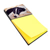 Naptime Border Collie Sticky Note Holder AMB1080SN by Caroline's Treasures