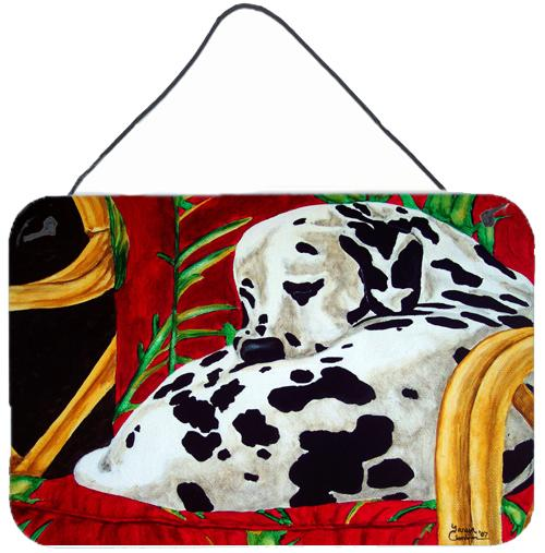 Sunday Nap Dalmatian Wall or Door Hanging Prints by Caroline's Treasures