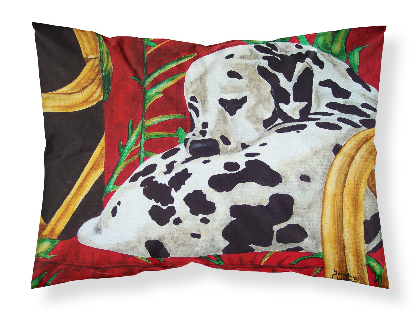 Buy this Sunday Nap Dalmatian Fabric Standard Pillowcase AMB1118PILLOWCASE