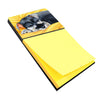 Buy this Snoozing Schnauzer Sticky Note Holder AMB1161SN