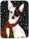 Snowy Chihuahua Mouse Pad, Hot Pad or Trivet AMB1170MP by Caroline's Treasures