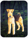 Delta Airedale Terrier Mouse Pad, Hot Pad or Trivet AMB1188MP by Caroline's Treasures