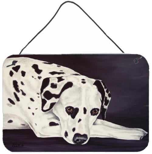 Dal Dalmatian Wall or Door Hanging Prints by Caroline's Treasures