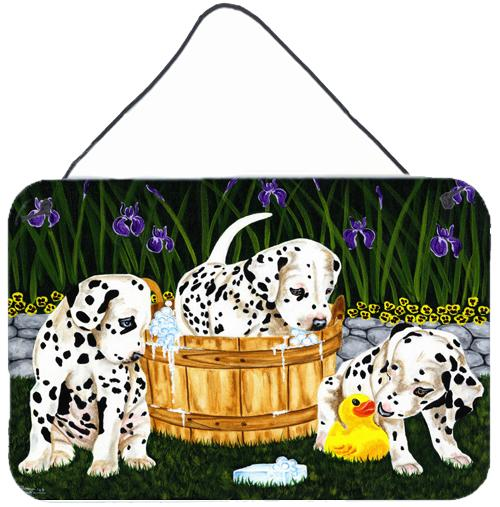 Pass the Soap Dalmatian Wall or Door Hanging Prints AMB1320DS812 by Caroline's Treasures