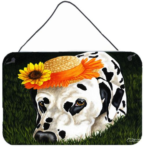 My Sun Spot Dalmatian Wall or Door Hanging Prints AMB1340DS812 by Caroline's Treasures