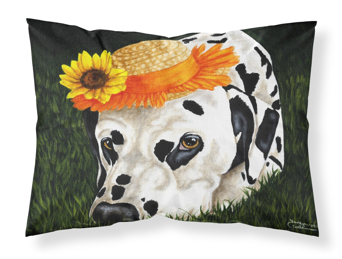 Buy this My Sun Spot Dalmatian Fabric Standard Pillowcase AMB1340PILLOWCASE