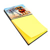 The Dog Beach Dachshund Sticky Note Holder AMB1341SN by Caroline's Treasures