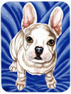 Diamond in Blue French Bulldog Mouse Pad, Hot Pad or Trivet AMB1351MP by Caroline's Treasures