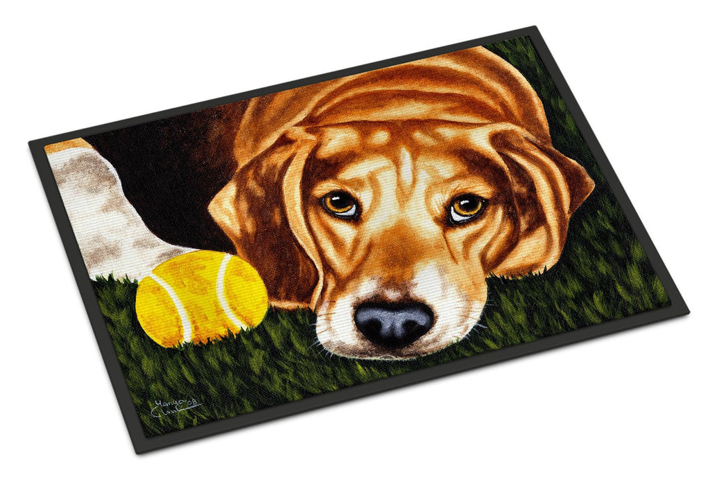 Buy this Have Ball Will Travel Beagle Indoor or Outdoor Mat 18x27 AMB1358MAT