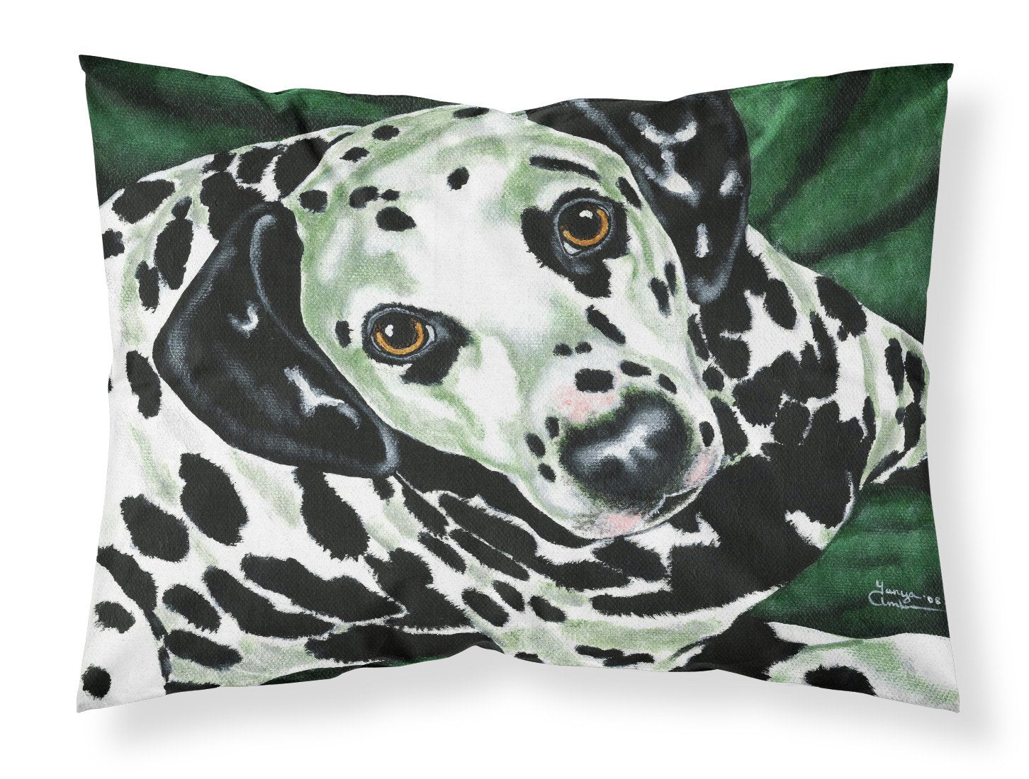 Buy this Emerald Beauty Dalmatian Fabric Standard Pillowcase AMB1359PILLOWCASE