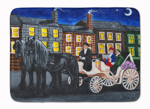 Buy this City Carriage Ride Horse Machine Washable Memory Foam Mat AMB1409RUG