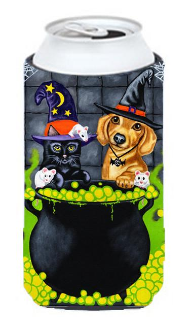 Brewing up Trouble Halloween Dachshund Tall Boy Beverage Insulator Hugger AMB1434TBC by Caroline's Treasures