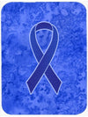 Dark Blue Ribbon for Colon Cancer Awareness Mouse Pad, Hot Pad or Trivet AN1202MP by Caroline's Treasures