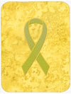 Yellow Ribbon for Sarcoma, Bone or Bladder Cancer Awareness Mouse Pad, Hot Pad or Trivet AN1203MP by Caroline's Treasures