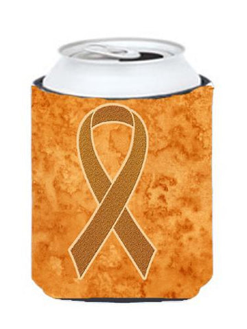 Buy this Orange Ribbon for Leukemia Awareness Can or Bottle Hugger AN1204CC
