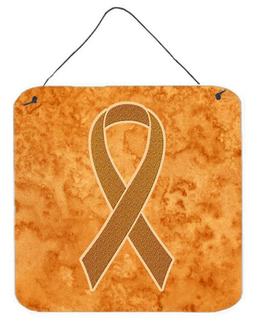 Buy this Orange Ribbon for Leukemia Awareness Wall or Door Hanging Prints AN1204DS66