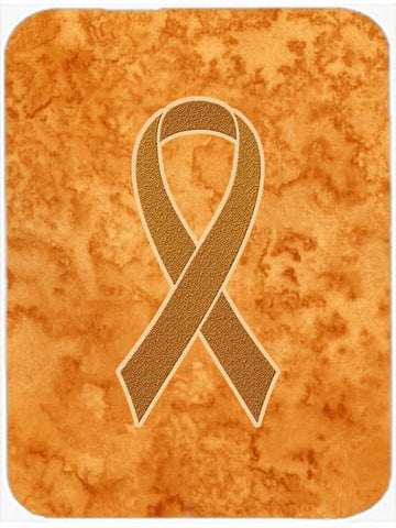 Buy this Orange Ribbon for Leukemia Awareness Glass Cutting Board Large Size AN1204LCB