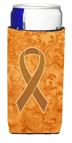 Buy this Orange Ribbon for Leukemia Awareness Ultra Beverage Insulators for slim cans AN1204MUK