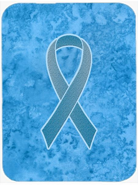 Blue Ribbon for Prostate Cancer Awareness Glass Cutting Board Large Size AN1206LCB by Caroline's Treasures