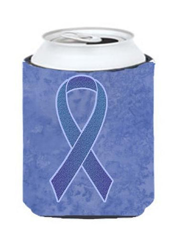 Buy this Periwinkle Blue Ribbon for Esophageal and Stomach Cancer Awareness Can or Bottle Hugger AN1208CC