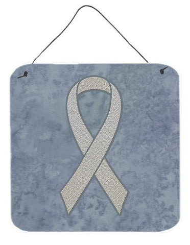 Buy this Clear Ribbon for Lung Cancer Awareness Wall or Door Hanging Prints AN1210DS66