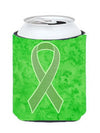Lime Green Ribbon for Lymphoma Cancer Awareness Can or Bottle Hugger AN1212CC by Caroline's Treasures