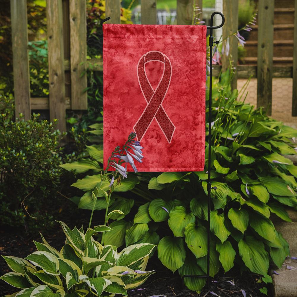 Red Ribbon for Aids Awareness Flag Garden Size AN1213GF by Caroline's Treasures
