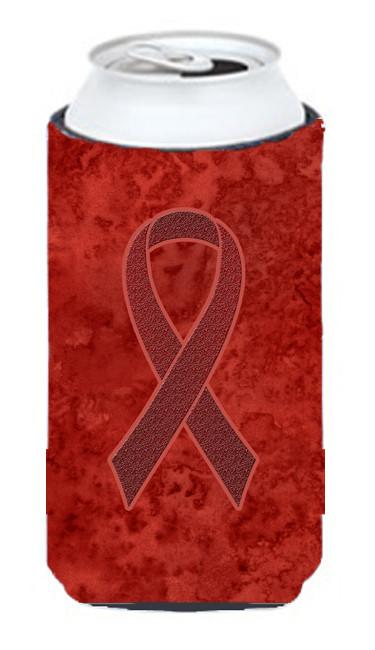 Buy this Burgundy Ribbon for Multiple Myeloma Cancer Awareness Tall Boy Beverage Insulator Hugger AN1214TBC