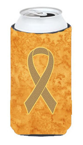 Buy this Peach Ribbon for Uterine Cancer Awareness Tall Boy Beverage Insulator Hugger AN1219TBC