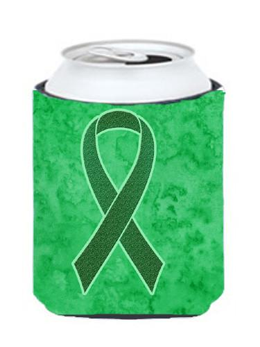 Buy this Kelly Green Ribbon for Kidney Cancer Awareness Can or Bottle Hugger AN1220CC
