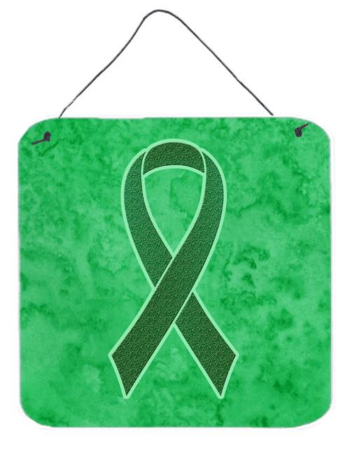 Buy this Kelly Green Ribbon for Kidney Cancer Awareness Wall or Door Hanging Prints AN1220DS66