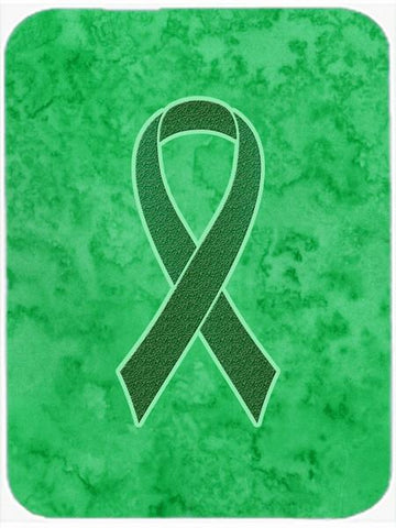 Buy this Kelly Green Ribbon for Kidney Cancer Awareness Glass Cutting Board Large Size AN1220LCB