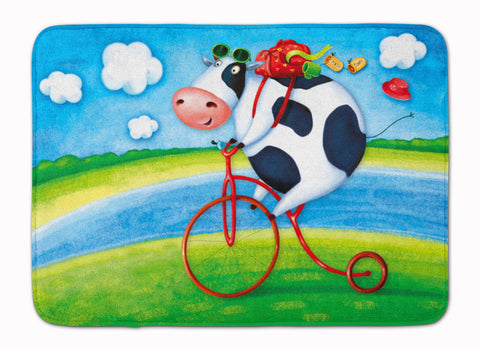 Buy this Cow riding Bicycle Machine Washable Memory Foam Mat APH0076RUG