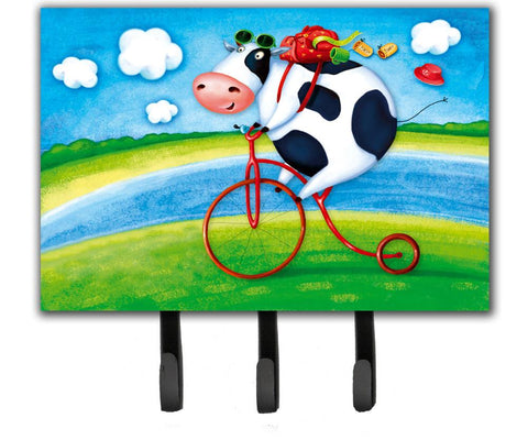 Buy this Cow riding Bicycle Leash or Key Holder APH0076TH68