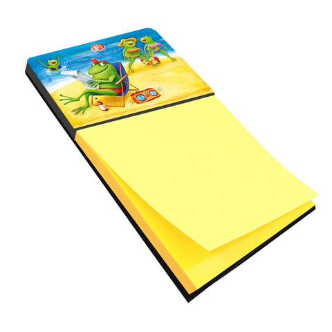 Buy this Frogs on the Beach Sticky Note Holder APH0080SN