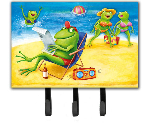 Buy this Frogs on the Beach Leash or Key Holder APH0080TH68