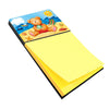 Buy this Teddy Bear on the Beach Sticky Note Holder APH0088SN