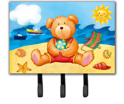 Buy this Teddy Bear on the Beach Leash or Key Holder APH0088TH68