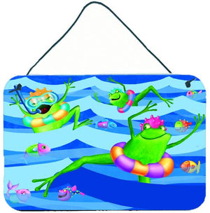 Buy this Frogs Swimming Wall or Door Hanging Prints APH0089DS812
