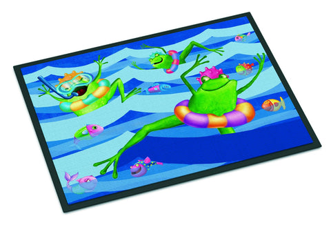 Buy this Frogs Swimming Indoor or Outdoor Mat 24x36 APH0089JMAT