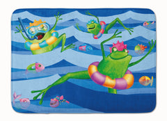 Buy this Frogs Swimming Machine Washable Memory Foam Mat APH0089RUG