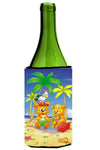 Teddy Bears Picnic on the Beach Wine Bottle Beverage Insulator Hugger APH0239LITERK by Caroline's Treasures