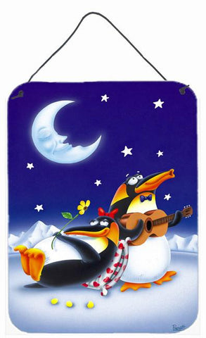 Buy this Music under the Moon Penguins Wall or Door Hanging Prints APH0243DS1216